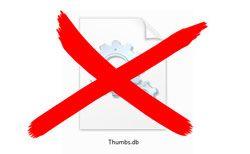 Как удалить thumbs.db и что это такое